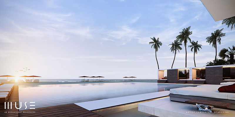 MUSE Sunny Isles Residences - Infinity Pool