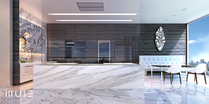 MUSE Sunny Isles Residences - Kitchen