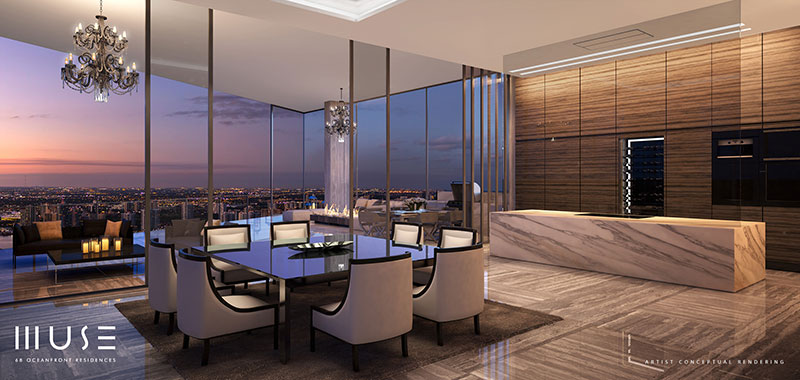 MUSE Sunny Isles Residences - Dining Area