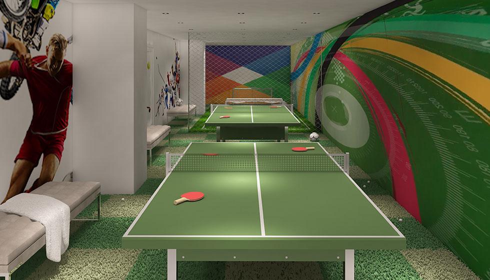 Oasis Hallandale Game Room