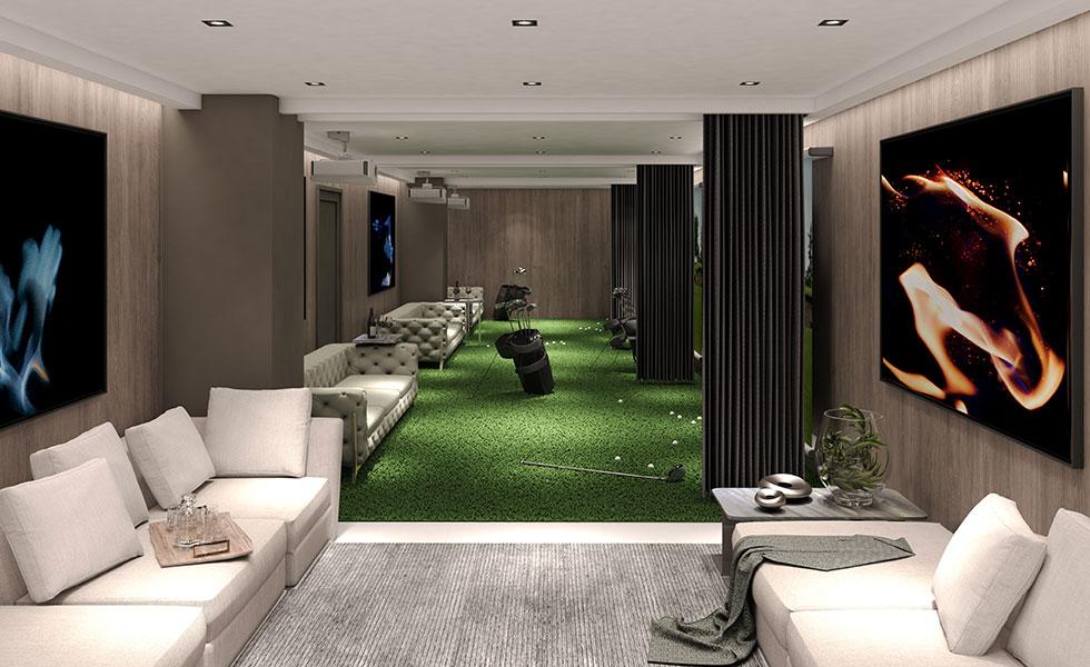 Oasis Hallandale Indoor Golf