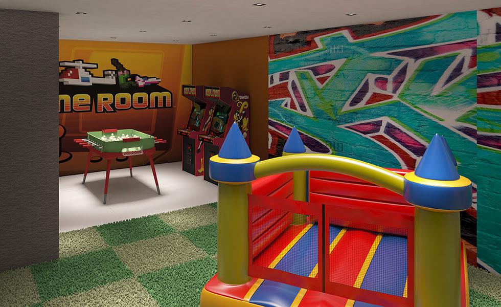 Oasis Hallandale Kids Room
