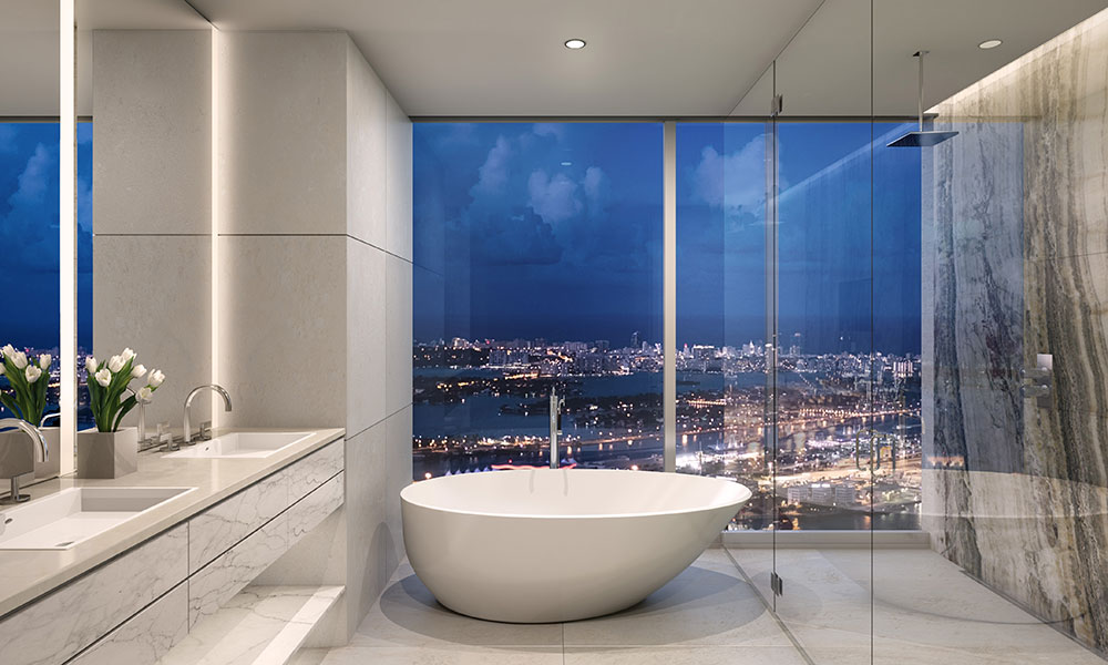 One River Point Bathroom