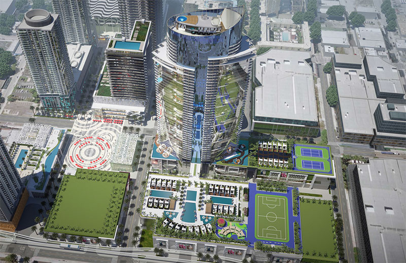 Paramount at Miami WorldCenter Residences in Miami