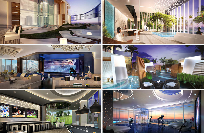 Paramount at Miami WorldCenter Residences in Miami, The Most Amenities in the World