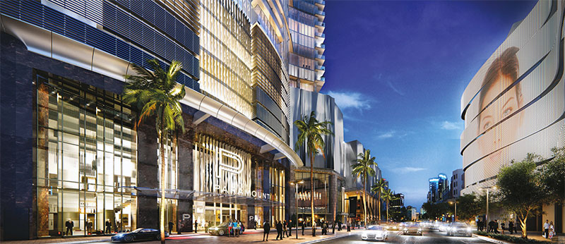 Paramount at Miami WorldCenter Residences in Miami, Entrance