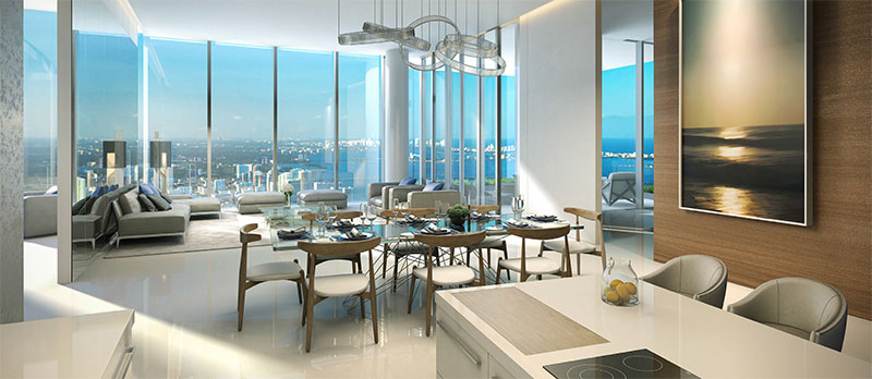 Paramount at Miami WorldCenter Residences in Miami, Convertable Den