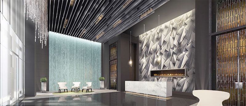Paramount at Miami WorldCenter Residences in Miami, Lobby