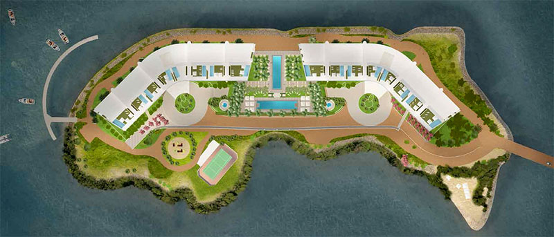 Prive, Private Island Residences in Aventura - Sitemap