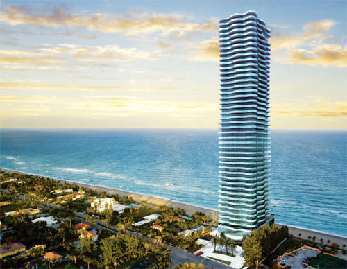 regalia oceanfront residences in sunny isles 46 floors 39 exclusive residences the penthouse. Black Bedroom Furniture Sets. Home Design Ideas