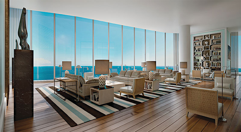The Ritz Carlton Sunny Isles Beach, Commonn Area Library