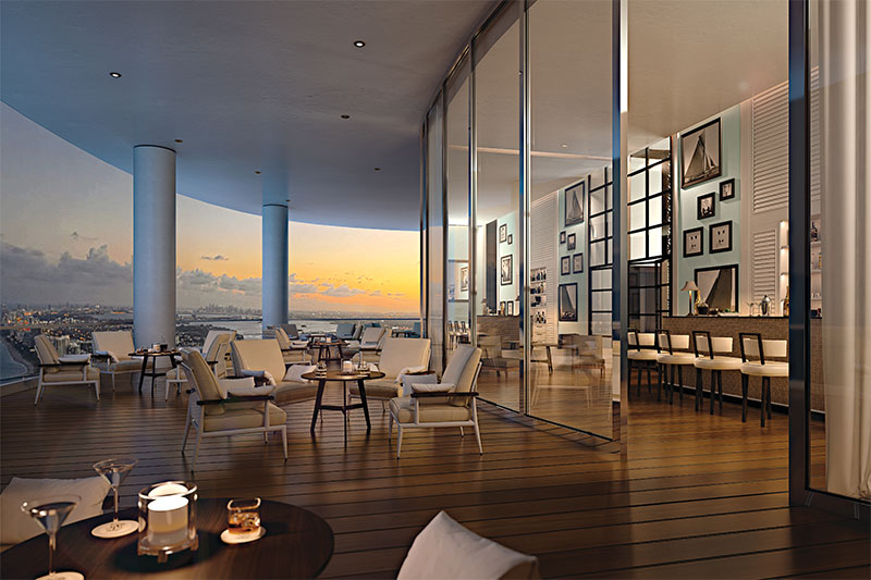 The Ritz Carlton Sunny Isles Beach, Club Level