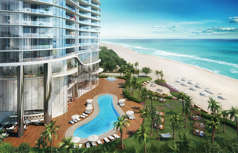 The Ritz Carlton Sunny Isles Beach, Pool and Beach