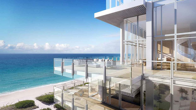 The Surf Club Four Seasons Residences in Miami Beach