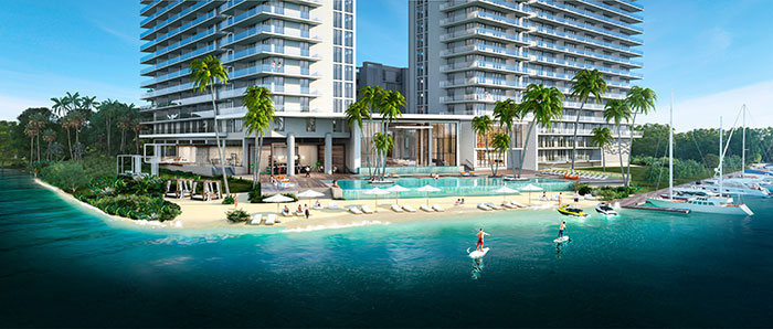 The Harbour Condo Residences Beach