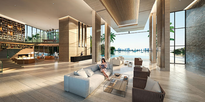 The Harbour Condo Residences Lobby