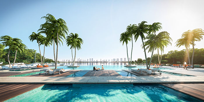 The Harbour Condo Residences Pool