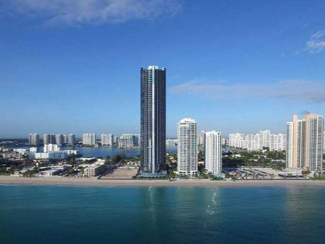 Porsche Design Tower In Sunny Isles Miami