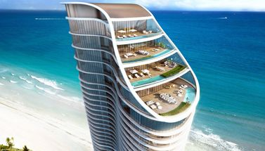 New Ritz Carlton Residences in Sunny Isles Beach
