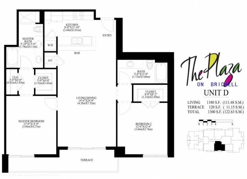 Beautiful 1060 Brickell Floor Plans Gallery Flooring